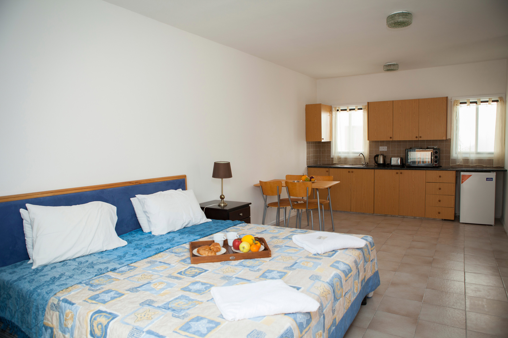 Alecos hotel Apartments Bedroom Paphos